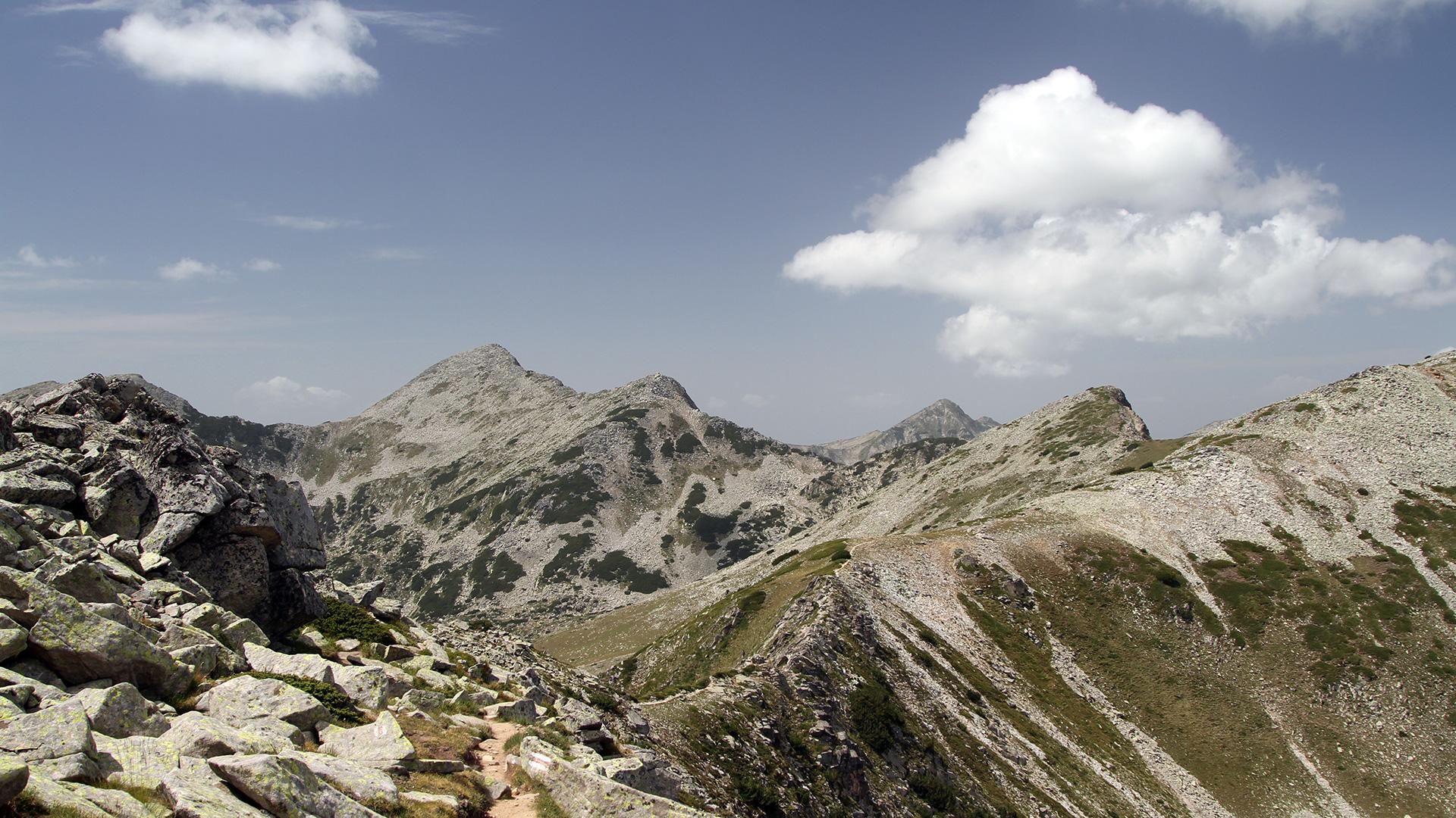 За Пирин – Централното било към връх Възела 2 660 м