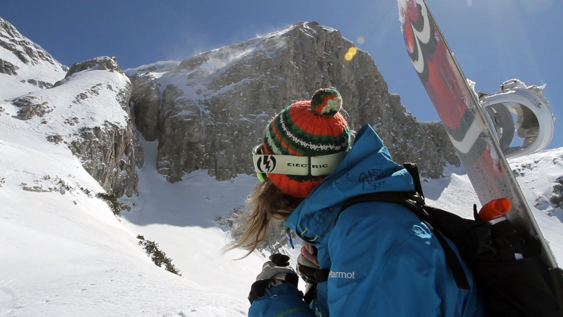 Заедно #ЗаПирин – Фрийрайд сноубордист в Пирин