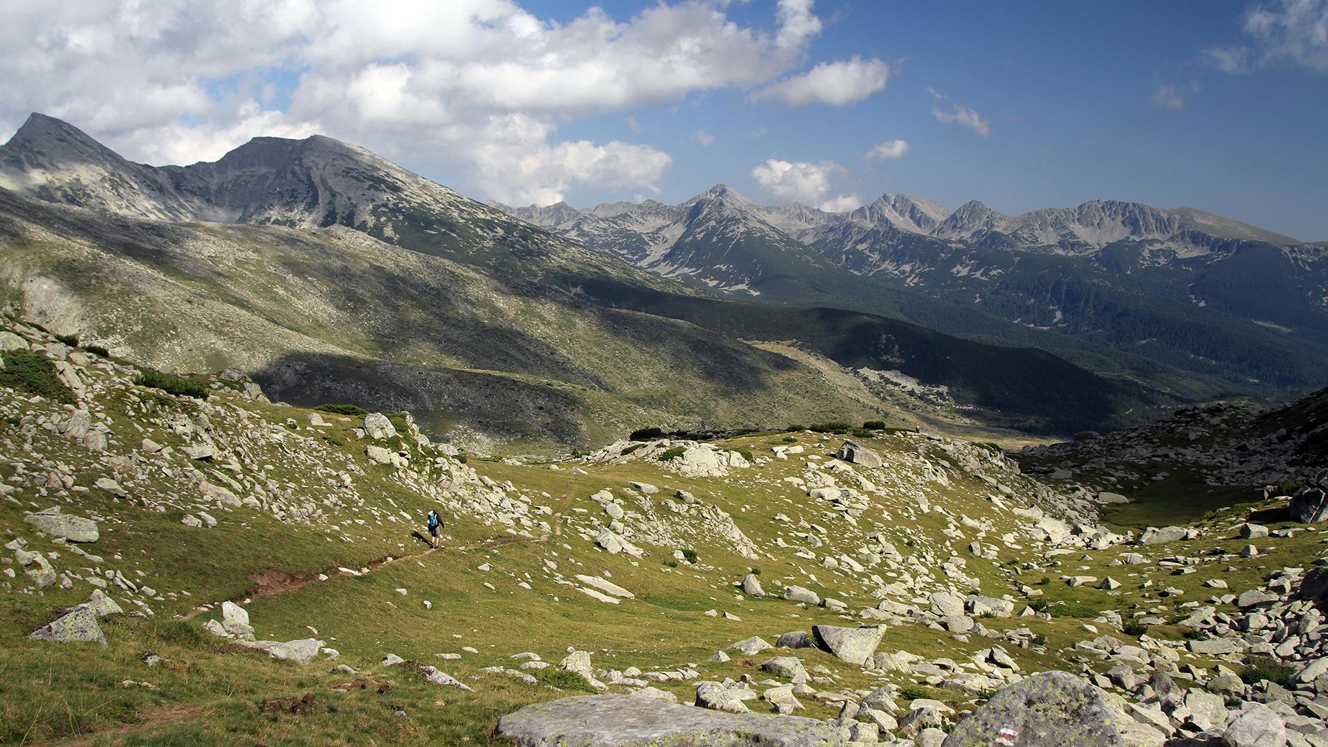 Заедно #ЗаПирин – Планинар в Голямо спано поле